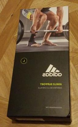 Adidas Ankle Support Compression Brace Men's Black Brand New