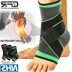 Ankle Support Compression Socks Foot Arch Heel Brace Plantar