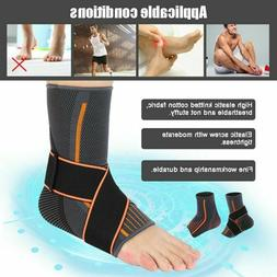 Ankle Support Foot Brace Guard Sports Shin Protector Feet Fo
