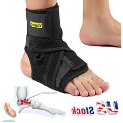 Yosoo Ankle Support Plantar Fasciitis Brace Stabilizer Ortho