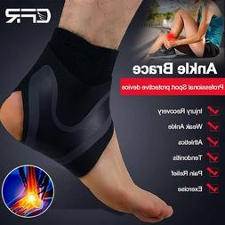 Ankle Support Strap Brace Achy Plantar Fasciitis Compression