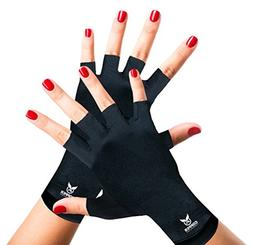 Arthritis Gloves by Copper Compression Gear - GUARANTEED To