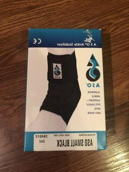 Med Spec ASO Black Ankle Stabilizer Brace Lace Up Size Small