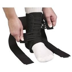 Med Spec ASO Speed Lacer Ankle Stabilizer Ankle Brace -Black