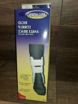 Bell Horn Rigid Stirrup Ankle Brace Size Small