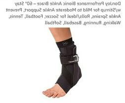 DonJoy Performance Bionic Ankle Support Brace: Left Foot, Bl