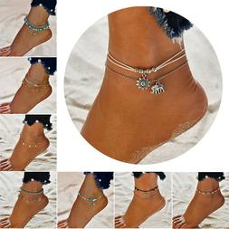Boho Ankle Bracelet  Womens Fashion Beach Anklet Different b