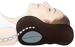 Sunshine Pillows Chiropractic Neck Pillow with Extra Neck Su