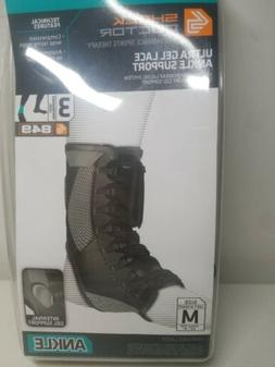 Compression Ankle Brace Shock Doctor 849 Ultra Gel Lace Up A