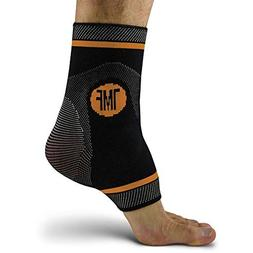 Ankle Compression Brace with Silicone Ankle Support and Anti