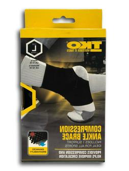 TKO Compression Ankle Brace Unisex Large Men's sz  Women