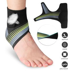 Compression Ankle Support Brace Socks Arch Running Plantar F