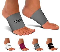 SB SOX Compression Arch Sleeves for Men & Women - Perfect Op
