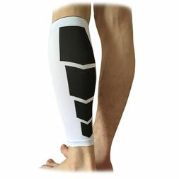 Compression Calf Sleeves Sports Running Leg Foot Support Bra