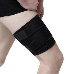 EDTara Compression Wrap for Groin Hip Thigh Hamstring Ajusta