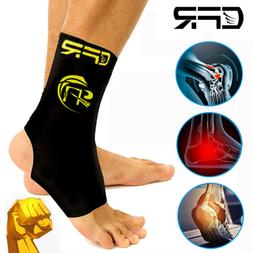 Copper Ankle Brace Support Compression Sleeve Plantar Fascii