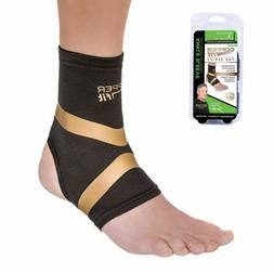 Copper Fit Pro Series Performance Compression Ankle Sleeve M