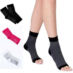 Copper Infused Compression Socks Ankle Support Brace Foot Ar
