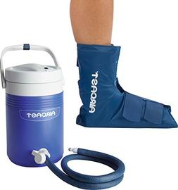 Aircast Cryo/Cuff Cold Therapy: Ankle Cryo/Cuff with Non-Mot