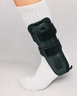 DJO Left or Right Foot Stirrup Ankle Support Pediatric Black