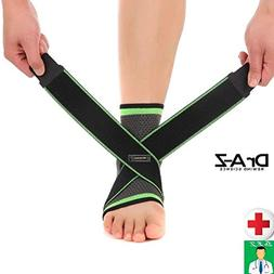 Dr A-Z Plantar Fasciitis Compression Sleeves Ankle Brace Sup