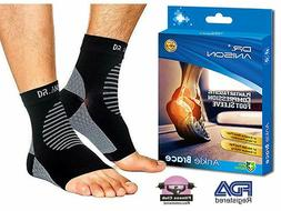 DR.ANISON Ankle Brace Sleeve Support Plantar Fasciitis Compr