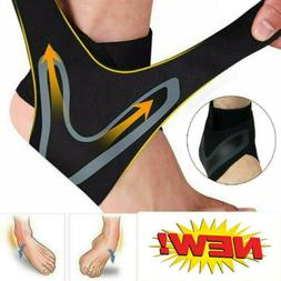 Elastic Adjustable Ankle Brace Support Sport Basketball Prot