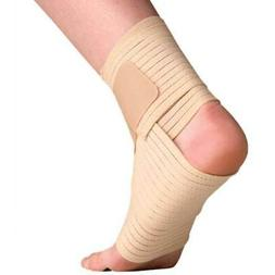 Thermoskin Elastic Ankle Wrap Expands Contracts Stretches Co
