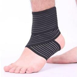 Elastic Sport Ankle Support Sleeve Bandage Wrap Compression