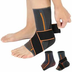 Elasticated Ankle Foot Support Brace Arthritis Sleeve Bandag