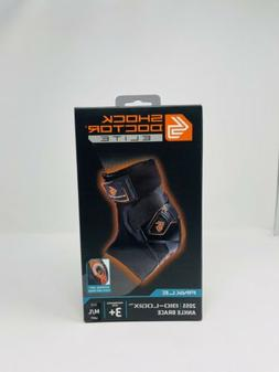 SHOCK DOCTOR ELITE ANKLE BRACE SIZE M/L LEFT SIDE BASKETBALL