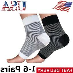 Foot Plantar Fasciitis Arch Support Compression Ankle Brace