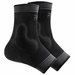 Foot Socks Ankle Brace Compression Support Sleeve With Silic