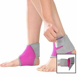 Kids Ankle Brace Support Sleeve Help Prevent Sprains For Run