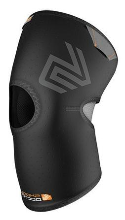 Shock Doctor Knee Compression Sleeve With Open Patella - Bla