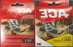 3M ACE Knitted Cotton Ankle Support Brace Mild Genuine MADE