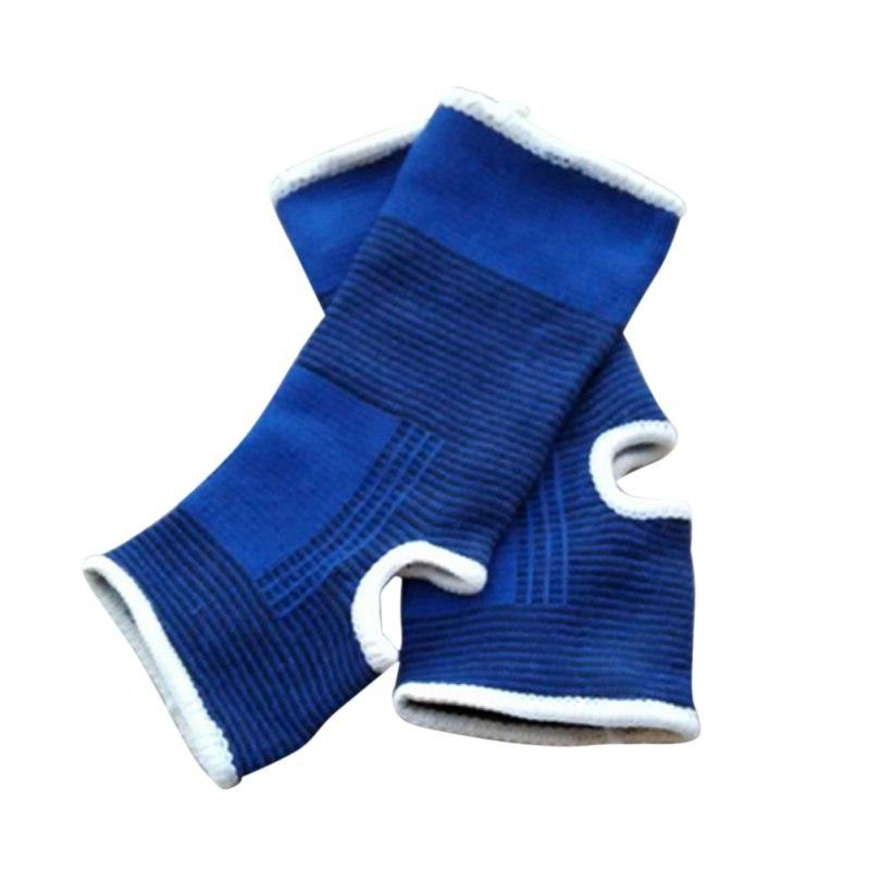 1 Pair of <font><b>Ankle</b></font> Support Wrap Sleeve Bandage Sports Relief Foot