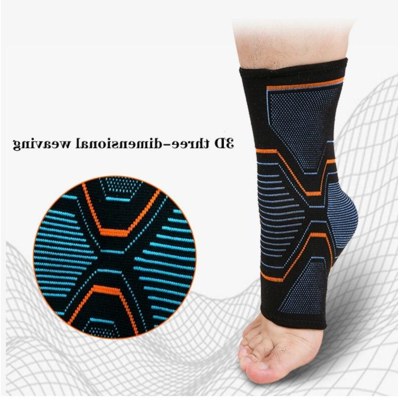 1 PCS <font><b>Ankle</b></font> Compression Support Breathable Injury Joint Pain basket Foot Sports