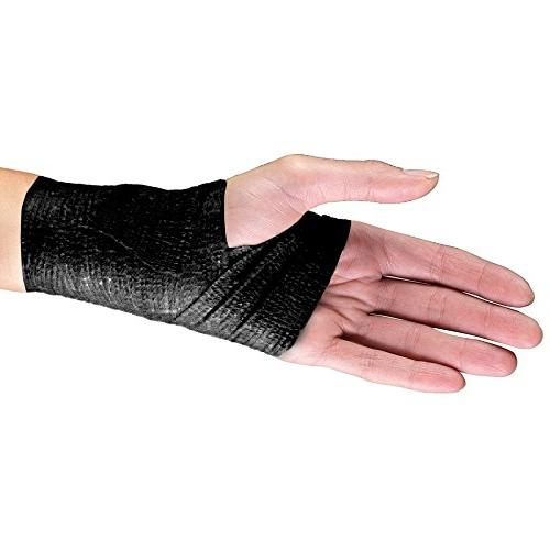 Yards, Strong Wrist, Ankle Sprains & FDA Black Color, Self Adhesive Athletic