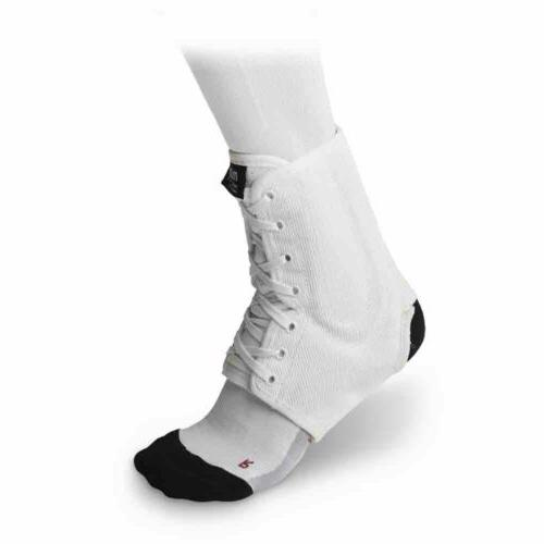 McDavid 199 IR Level 3 Ankle Brace / Lace-up W/ Stays White