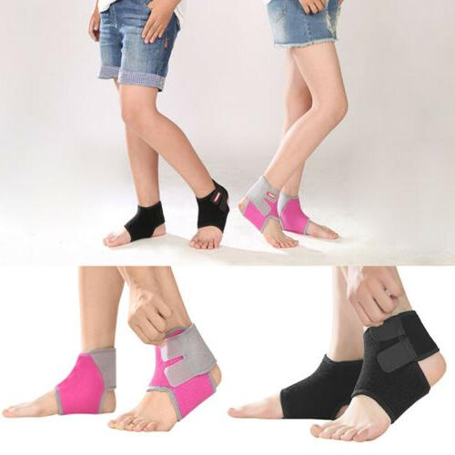 kids children ankle brace compression support wrap