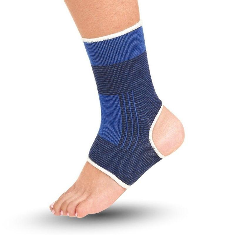 1 of <font><b>Ankle</b></font> <font><b>Compression</b></font> Wrap Sleeve Relief Protection