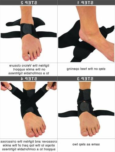 2 Relief Compression Support Foot Wrap