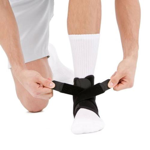 2 Sports Relief Ankle Support Wrap