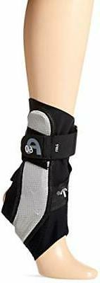 Aircast A60 Ankle Support Brace, Left Foot, Black, Medium (S