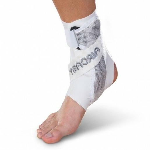 Aircast A60 Ankle Support Brace White