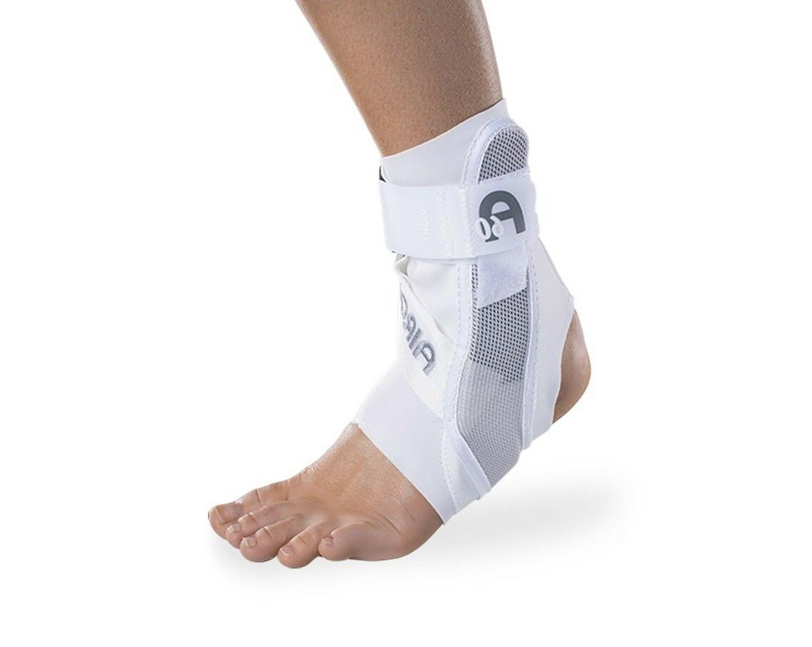 a60 ankle support brace white