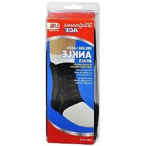 ace deluxe laced ankle brace