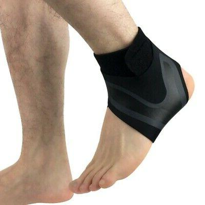 Adjustable Ankle Support Brace Protector Foot Sprains Injury