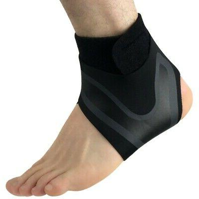 Adjustable Ankle Support Foot Injury Wrap Guard